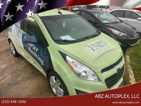 2014 Chevrolet Spark for sale at ABZ Autoplex, LLC in Baton Rouge LA