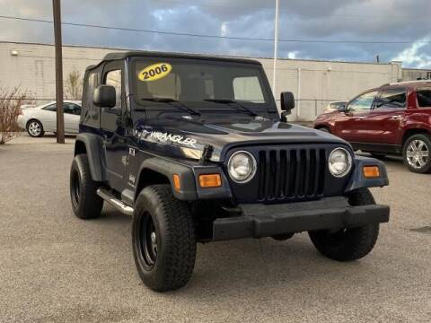 2006 Jeep Wrangler for sale at Betten Baker Preowned Center in Twin Lake MI