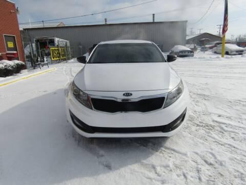 2012 Kia Optima for sale at X Way Auto Sales Inc in Gary IN