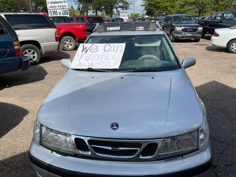 2000 Saab 9-5 for sale at Continental Auto Sales in White Bear Lake MN