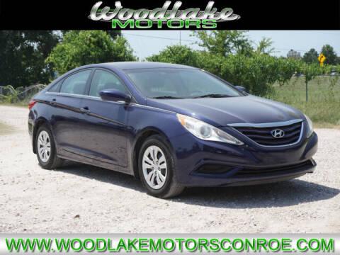 2011 Hyundai Sonata for sale at WOODLAKE MOTORS in Conroe TX