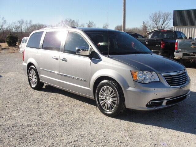 2014 Chrysler Town and Country for sale at Frieling Auto Sales in Manhattan KS