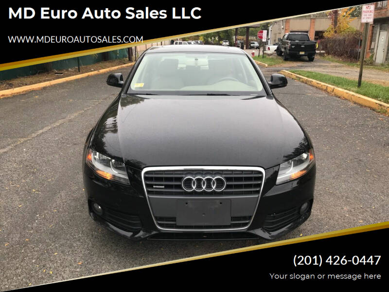 2009 Audi A4 for sale at MD Euro Auto Sales LLC in Hasbrouck Heights NJ