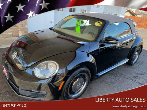 2013 Volkswagen Beetle Convertible for sale at Liberty Auto Sales in Elgin IL
