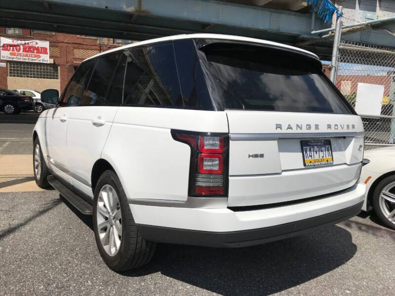 2016 Land Rover Range Rover AWD HSE 4dr SUV - Philladelphia PA