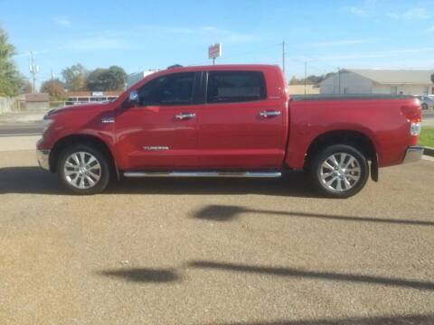 2012 Toyota Tundra for sale at Frontline Auto Sales in Martin TN