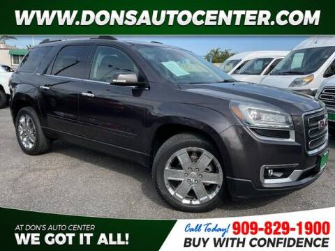 2017 GMC Acadia Limited for sale at Dons Auto Center in Fontana CA
