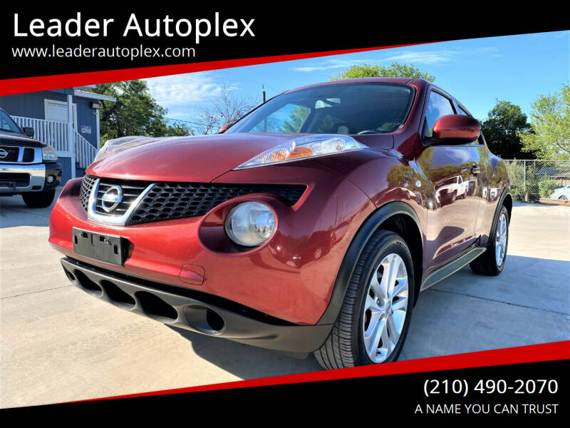 2012 Nissan JUKE for sale at Leader Autoplex in San Antonio TX