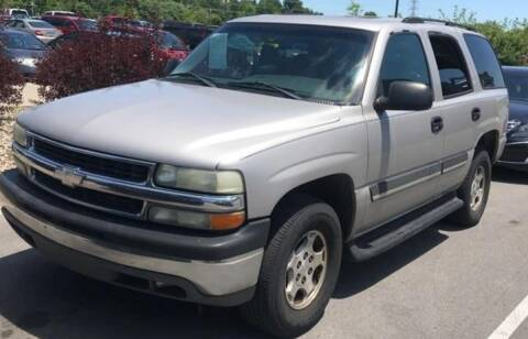 2004 Chevrolet Tahoe for sale at D & J AUTO EXCHANGE in Columbus IN