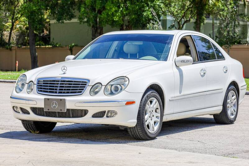 2005 Mercedes-Benz E-Class for sale at Easy Deal Auto Brokers in Hollywood FL