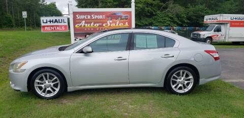 2009 Nissan Maxima for sale at Super Sport Auto Sales in Hope Mills NC