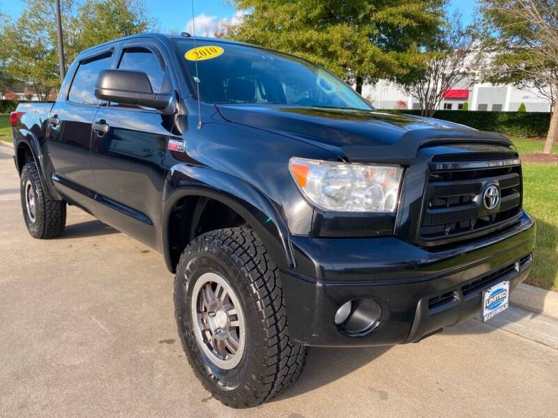 2010 Toyota Tundra for sale at UNITED AUTO WHOLESALERS LLC in Portsmouth VA