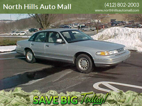 1997 Ford Crown Victoria for sale at North Hills Auto Mall in Pittsburgh PA