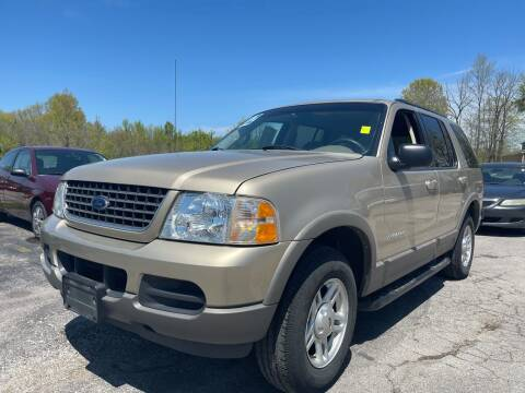 2002 Ford Explorer for sale at Best Buy Auto Sales in Murphysboro IL