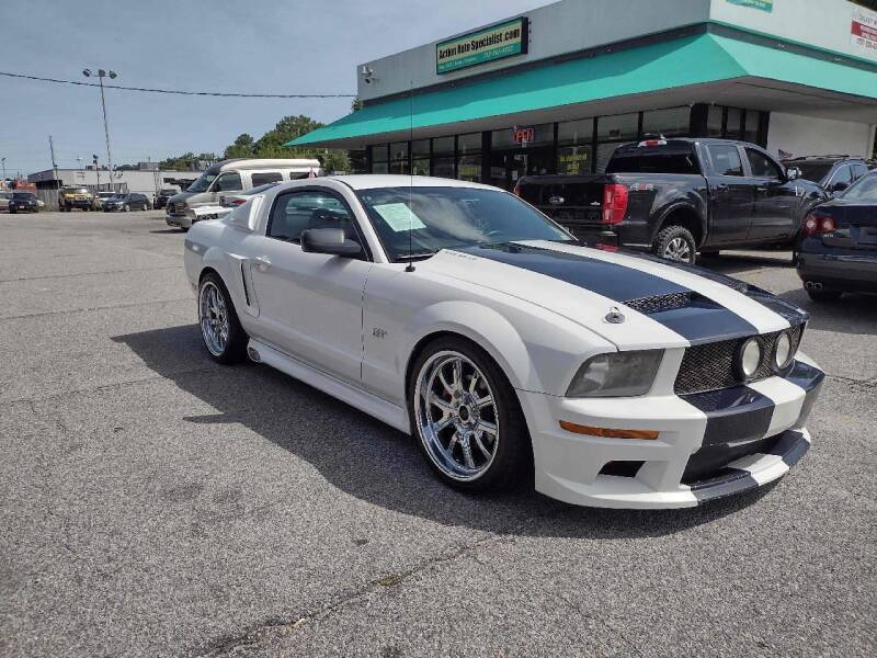2006 Ford Mustang for sale at Action Auto Specialist in Norfolk VA