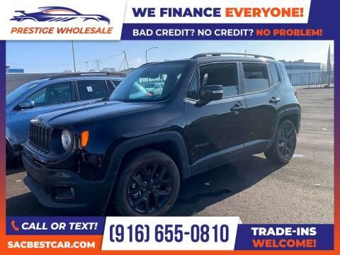 2018 Jeep Renegade for sale at Prestige Wholesale in Sacramento CA