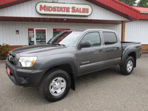 2014 Toyota Tacoma for sale at Midstate Sales in Foley MN