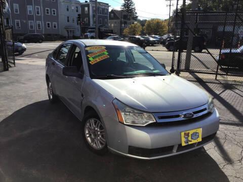 2008 Ford Focus for sale at Adams Street Motor Company LLC in Boston MA