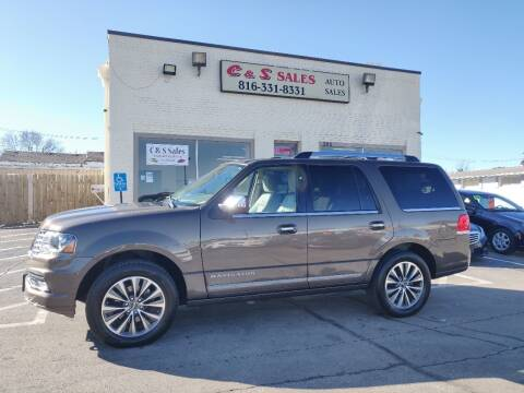 2015 Lincoln Navigator for sale at C & S SALES in Belton MO