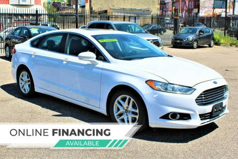 2014 Ford Fusion for sale at EZ PASS AUTO SALES LLC in Philadelphia PA