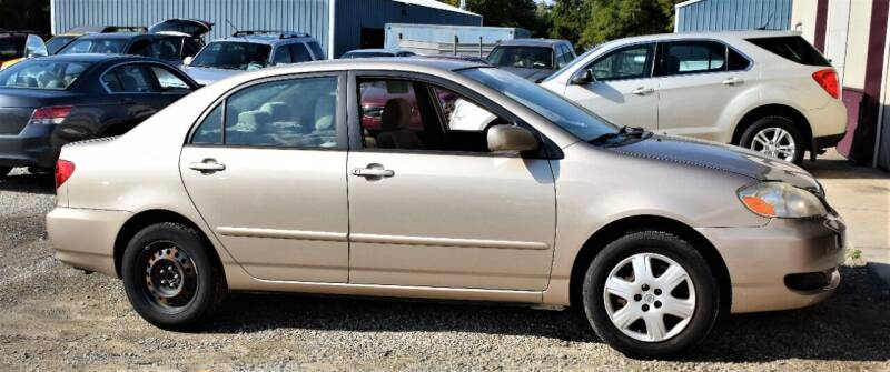 2008 Toyota Corolla for sale at PINNACLE ROAD AUTOMOTIVE LLC in Moraine OH