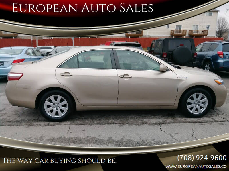 2007 Toyota Camry Hybrid for sale at European Auto Sales in Bridgeview IL