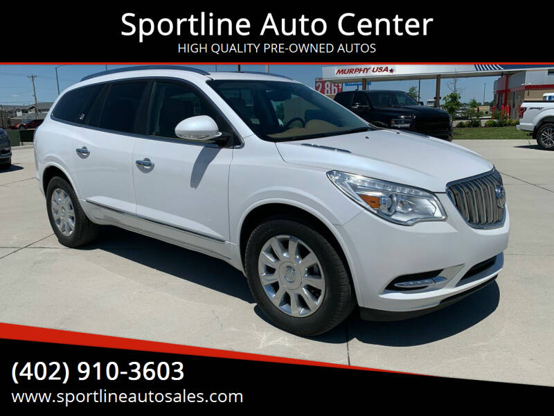 2017 Buick Enclave for sale at Sportline Auto Center in Columbus NE