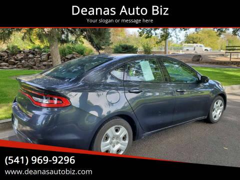 2013 Dodge Dart for sale at Deanas Auto Biz in Pendleton OR
