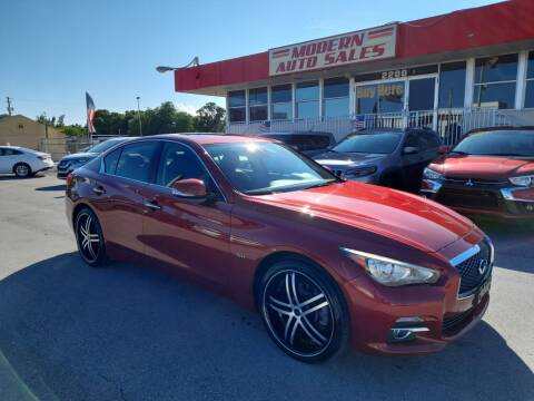 2016 Infiniti Q50 for sale at Modern Auto Sales in Hollywood FL