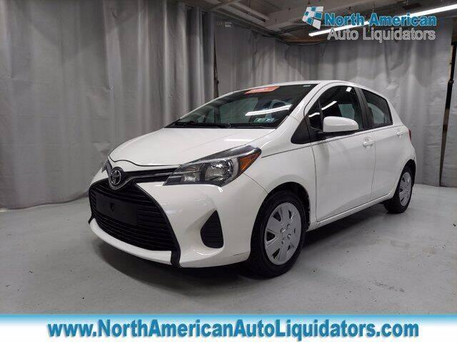 2016 Toyota Yaris for sale at North American Auto Liquidators in Essington PA