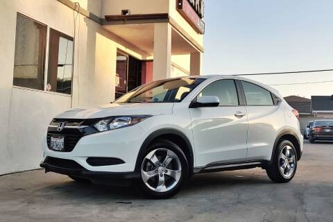 2018 Honda HR-V for sale at Fastrack Auto Inc in Rosemead CA