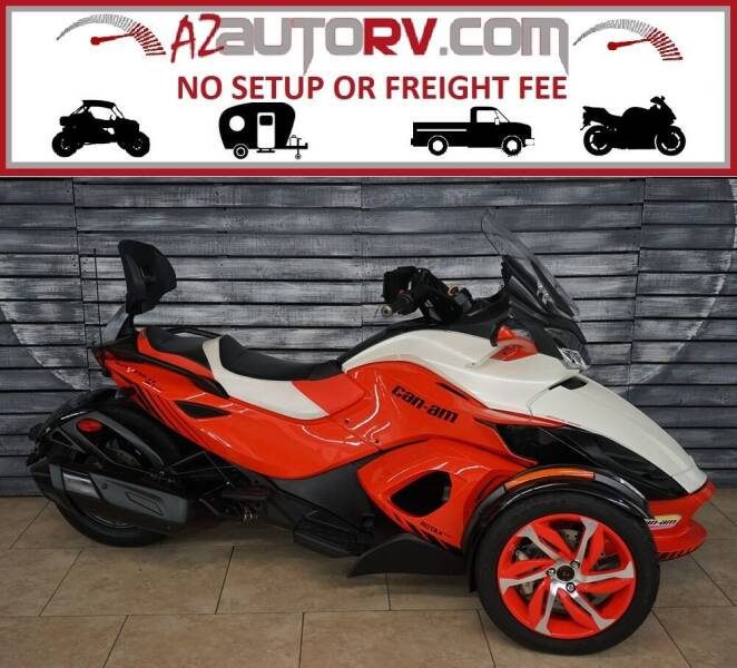2015 Can-Am Spyder for sale at AZautorv.com in Mesa AZ