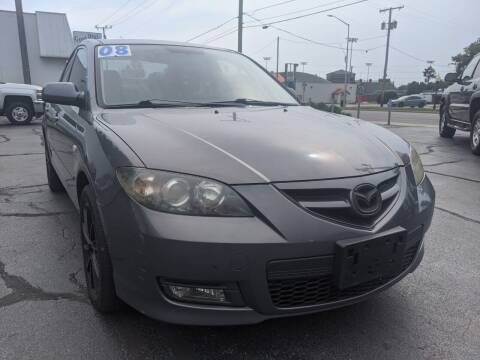 2008 Mazda MAZDA3 for sale at GREAT DEALS ON WHEELS in Michigan City IN