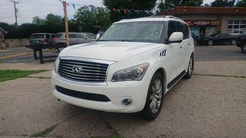 2011 Infiniti QX56 for sale at Lamarina Auto Sales in Dearborn Heights MI