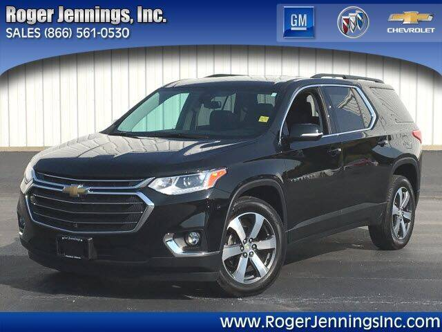 2020 Chevrolet Traverse for sale at ROGER JENNINGS INC in Hillsboro IL