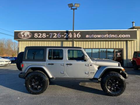 2020 Jeep Wrangler Unlimited for sale at AutoWorld of Lenoir in Lenoir NC