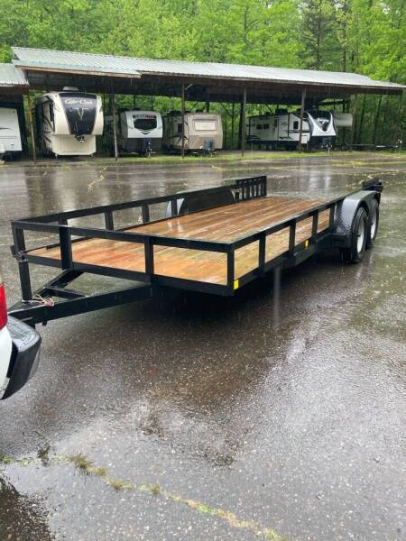 """2020 Homemade 18'x84"""" for sale at Village Wholesale in Hot Springs Village AR"""