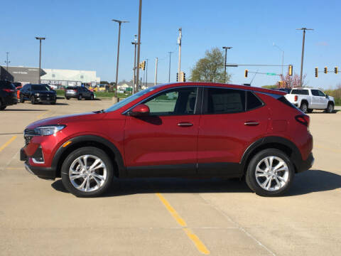 2021 Buick Encore GX for sale at LANDMARK OF TAYLORVILLE in Taylorville IL