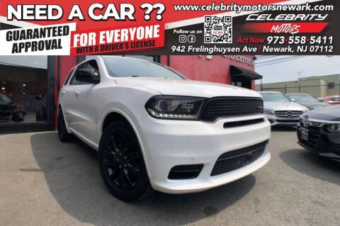 2018 Dodge Durango for sale at Celebrity Motors in Newark NJ