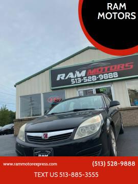 2007 Saturn Aura for sale at RAM MOTORS in Cincinnati OH