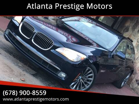 2011 BMW 7 Series for sale at Atlanta Prestige Motors in Decatur GA
