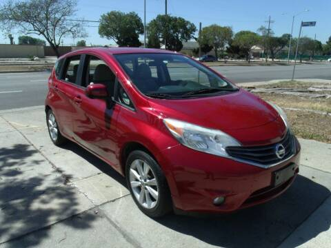 2014 Nissan Versa Note for sale at Hollywood Auto Brokers in Los Angeles CA