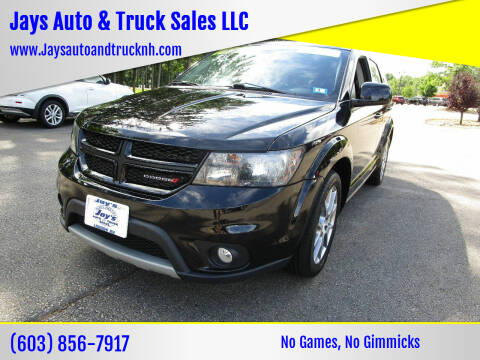 2018 Dodge Journey for sale at Jays Auto & Truck Sales LLC in Loudon NH