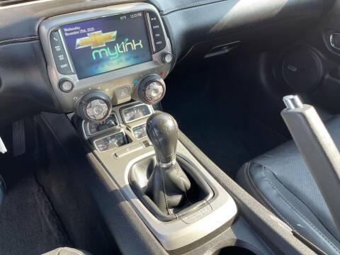 2014 Chevrolet Camaro for sale at Euro Zone Auto in Stanton CA