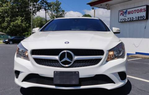 2016 Mercedes-Benz CLA for sale at R3A USA Motors in Lawrenceville GA