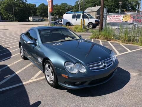 2004 Mercedes-Benz SL-Class for sale at Sandy Lane Auto Sales and Repair in Warwick RI