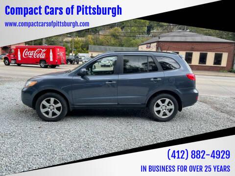 2008 Hyundai Santa Fe for sale at Compact Cars of Pittsburgh in Pittsburgh PA