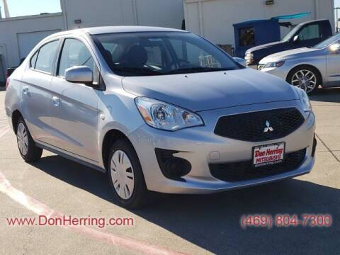 2020 Mitsubishi Mirage G4 for sale at DON HERRING MITSUBISHI in Irving TX