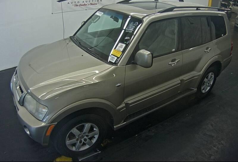 2005 Mitsubishi Montero for sale at 3D Auto Sales in Rocklin CA