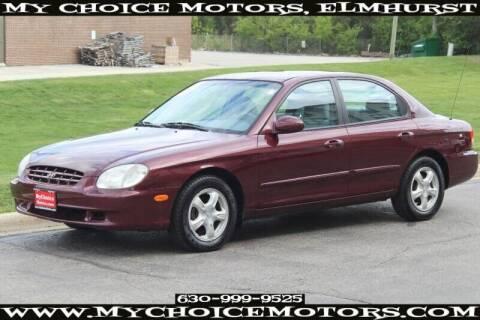 2001 Hyundai Sonata for sale at My Choice Motors Elmhurst in Elmhurst IL